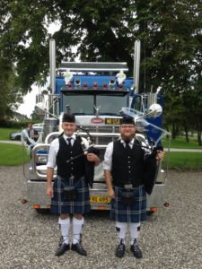 Aalborg Pipe Band til bryllup